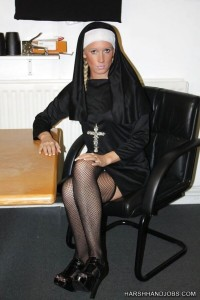 Free porn pics of Krystal Niles Nun Uncircumsized Handjob 1 of 20 pics