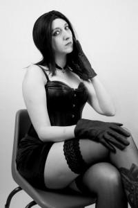 Free porn pics of Miss Teal as Goth Dom Mistress 1 of 24 pics