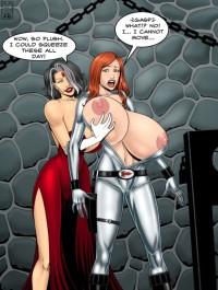 Free porn pics of RocketGirl vs Madame Veil 1 of 1 pics