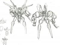 Free porn pics of Futanari Combatant Concept Sketch 1 of 2 pics