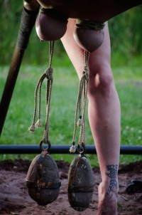 Free porn pics of Tied Tits  1 of 3 pics