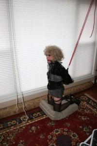 Free porn pics of Mature T-Gurl in bondage 1 of 23 pics