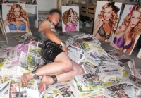 Free porn pics of Extreme Chain Bondage Slave 1 of 11 pics