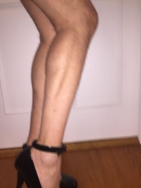 Free porn pics of CD Workout: High Heel Squats and Ball Weights 1 of 37 pics