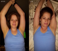 Free porn pics of Hairy Armpits - BEFORE AND AFTER 1 of 8 pics