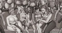Free porn pics of Femdom Drawings 1 of 30 pics