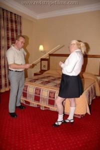 Free porn pics of Blonde Mature Schoolgirl Caned in Uniform 1 of 45 pics