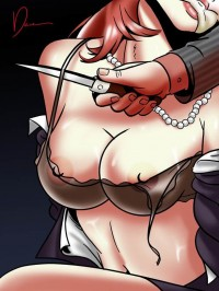 Free porn pics of Tit Bondage (Captioned) 1 of 7 pics
