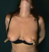 Free porn pics of More Bondage-Nipple Clamps and other things 1 of 30 pics