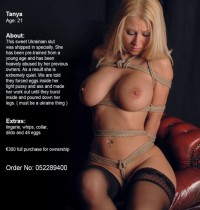 Free porn pics of Bondage - inventory for slave auction :) 1 of 19 pics