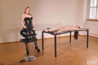 Free porn pics of Linda Brugal & Eva Berger - BDSM Newbie Humiliated 1 of 55 pics